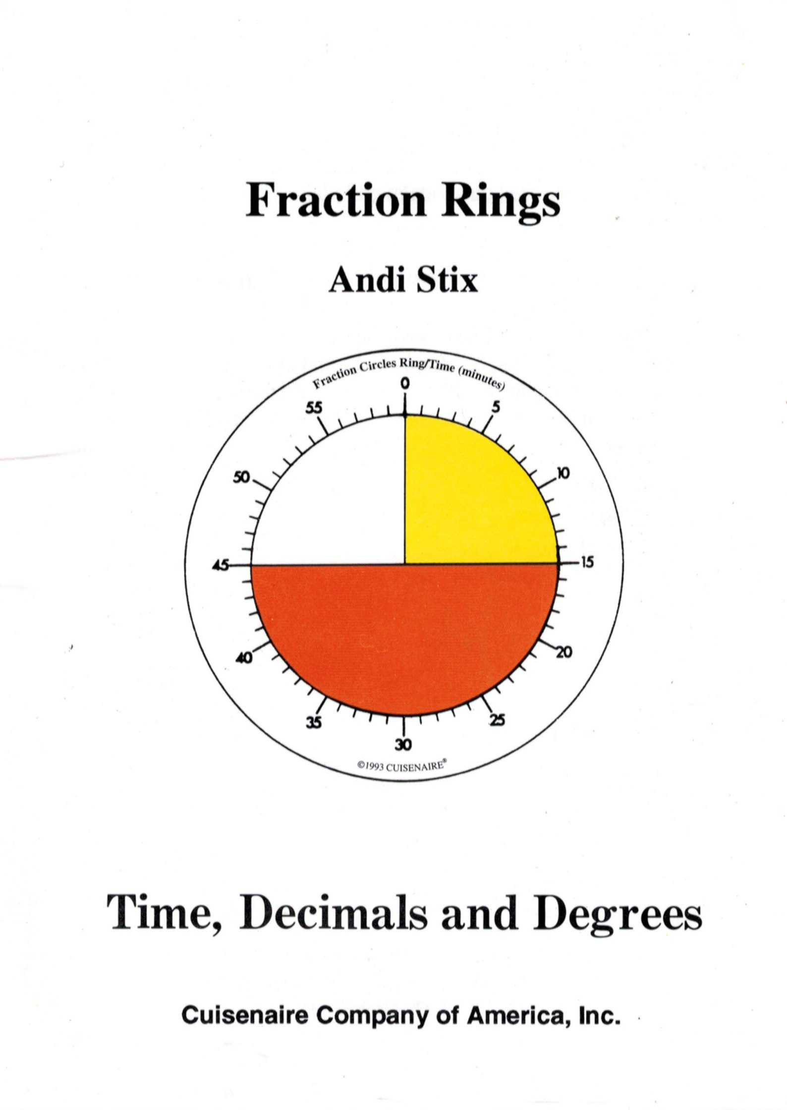 fraction rings teaching time decimals and degrees stix picks to reply